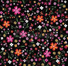 דפוס פרחים