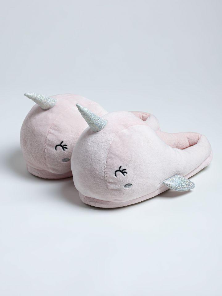נעלי בית לוויתן בצבע ורוד