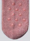 גרבי קטיפה FLUFFY בצבע ורוד עתיק