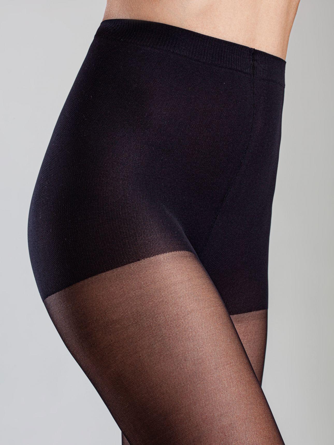 גרבון ניילון נשים 20 דנייר MONICA בצבע שחור