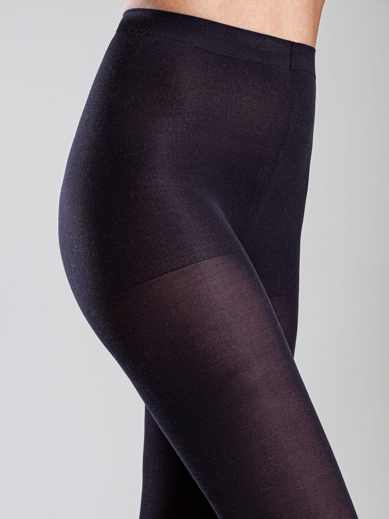 גרבונים 55DEN בצבע שחור
