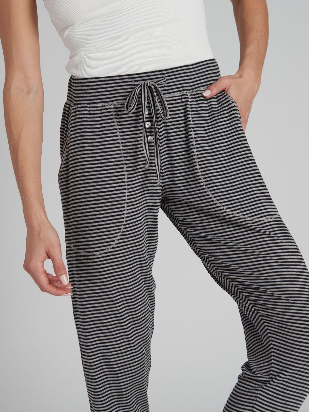 מכנסיים ארוכים DARLING בצבע פסים