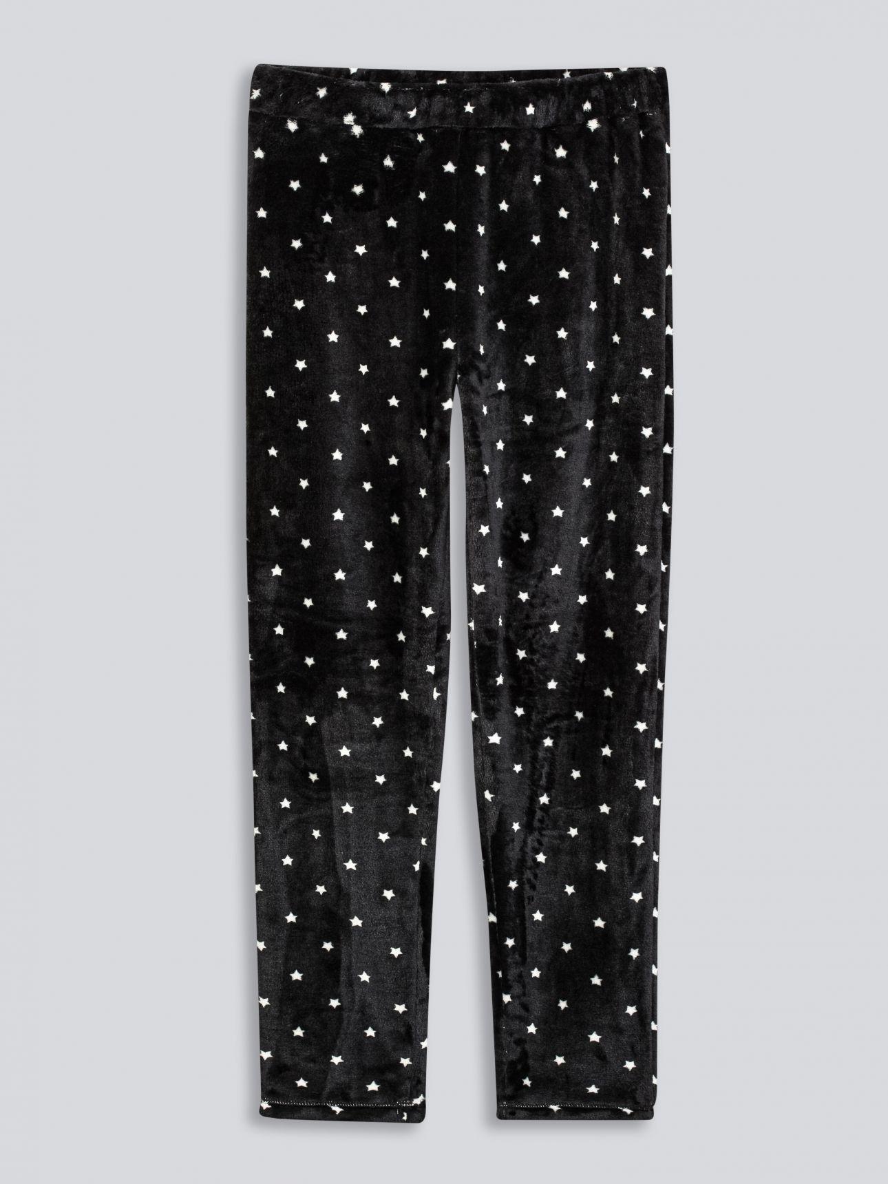 סט פיג'מה פלאפי LOONEY TUNES בצבע שחור