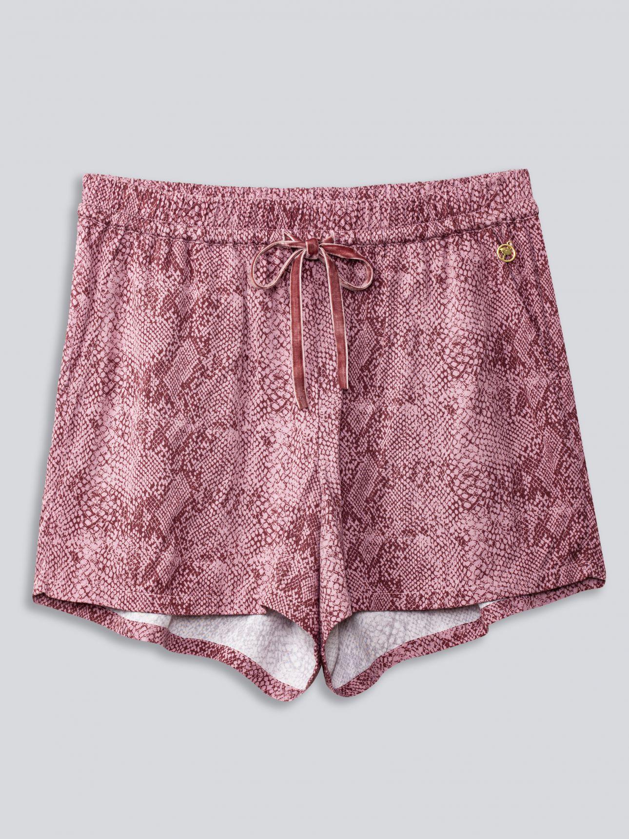 מכנסיים קצרים - WILD ART בצבע פודרה
