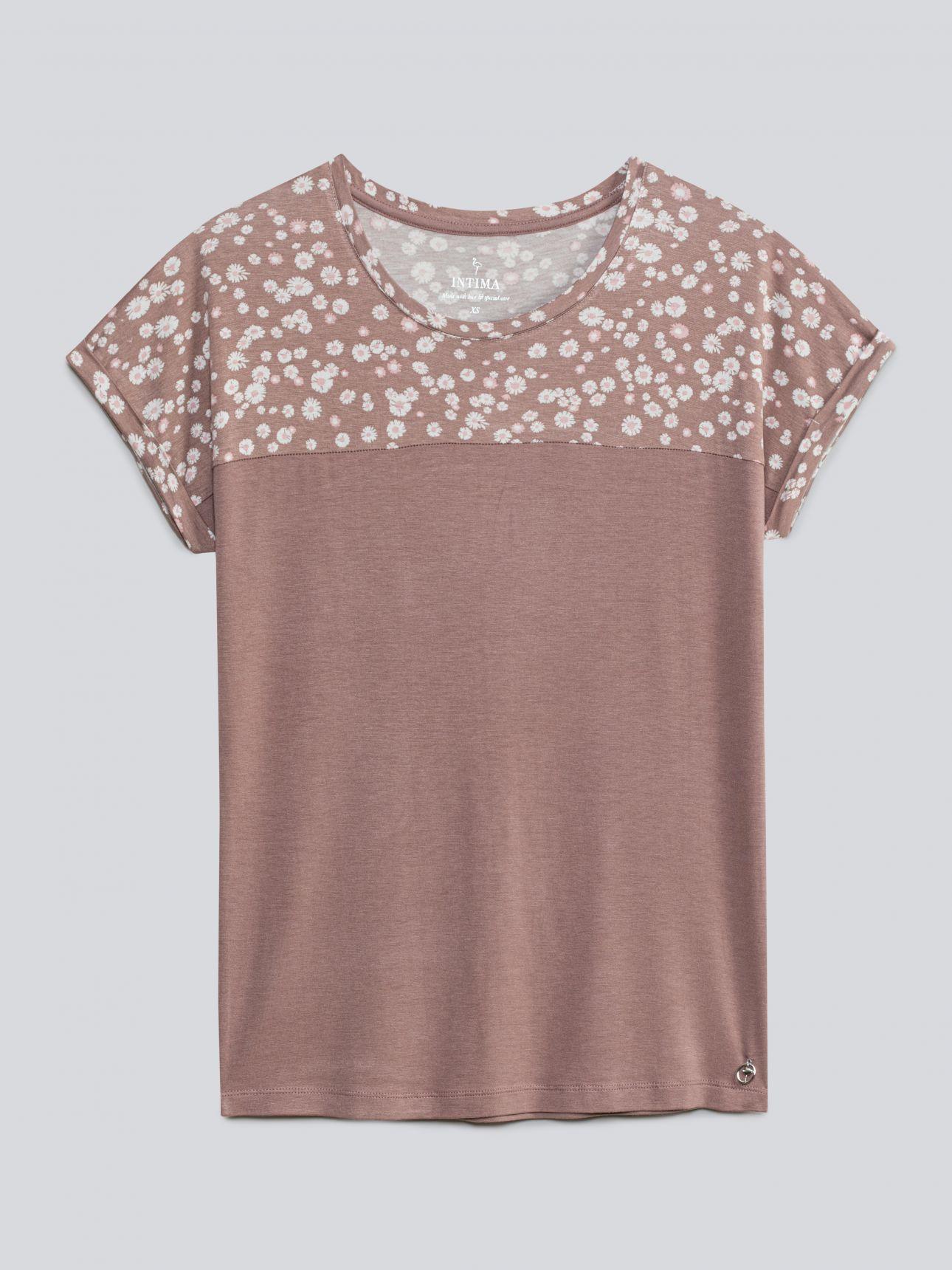 חולצת ASHLY בצבע חום קפוצינו