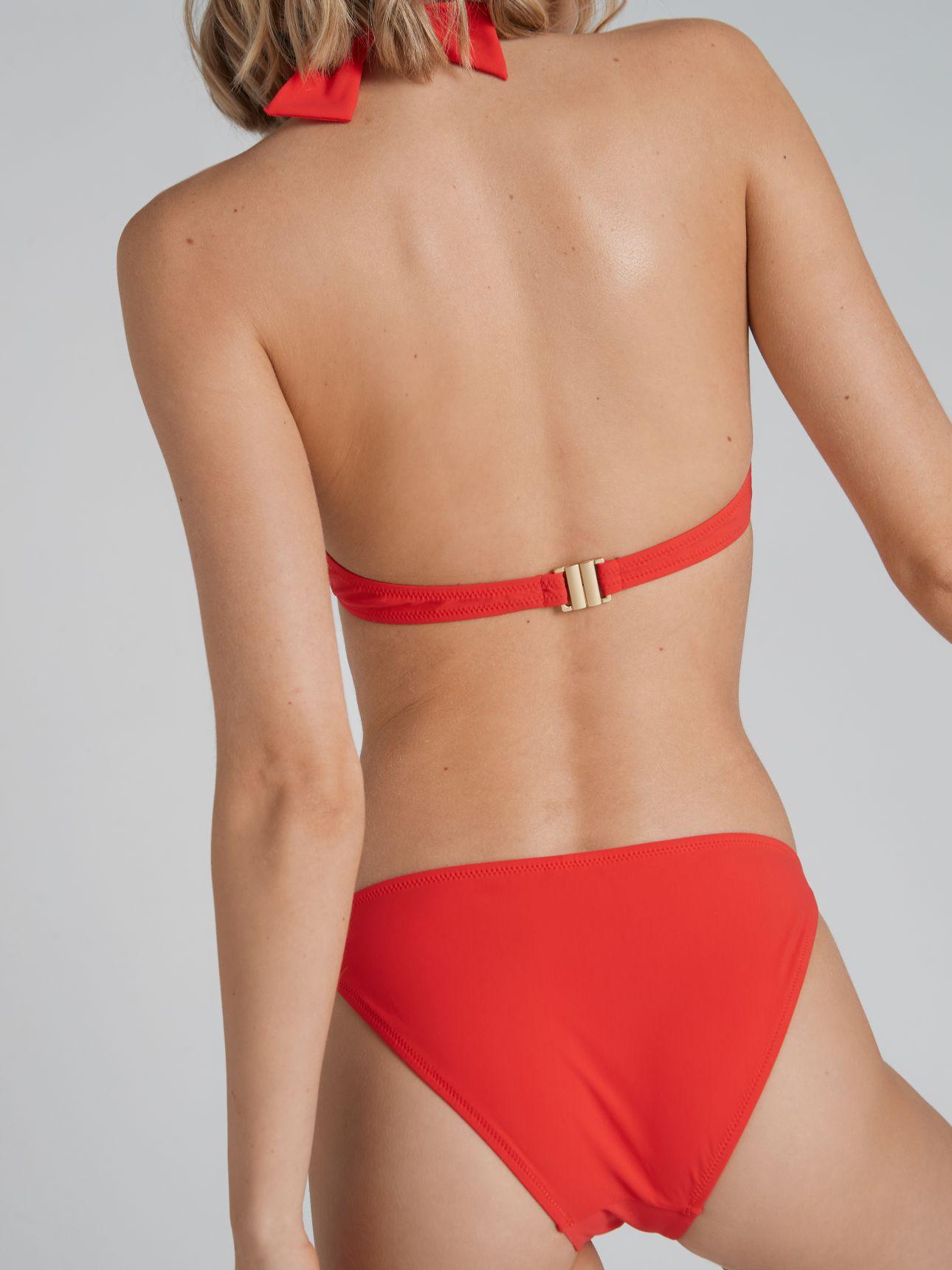 תחתוני בגד ים בשילוב שרשרת CHAINS בצבע כתום