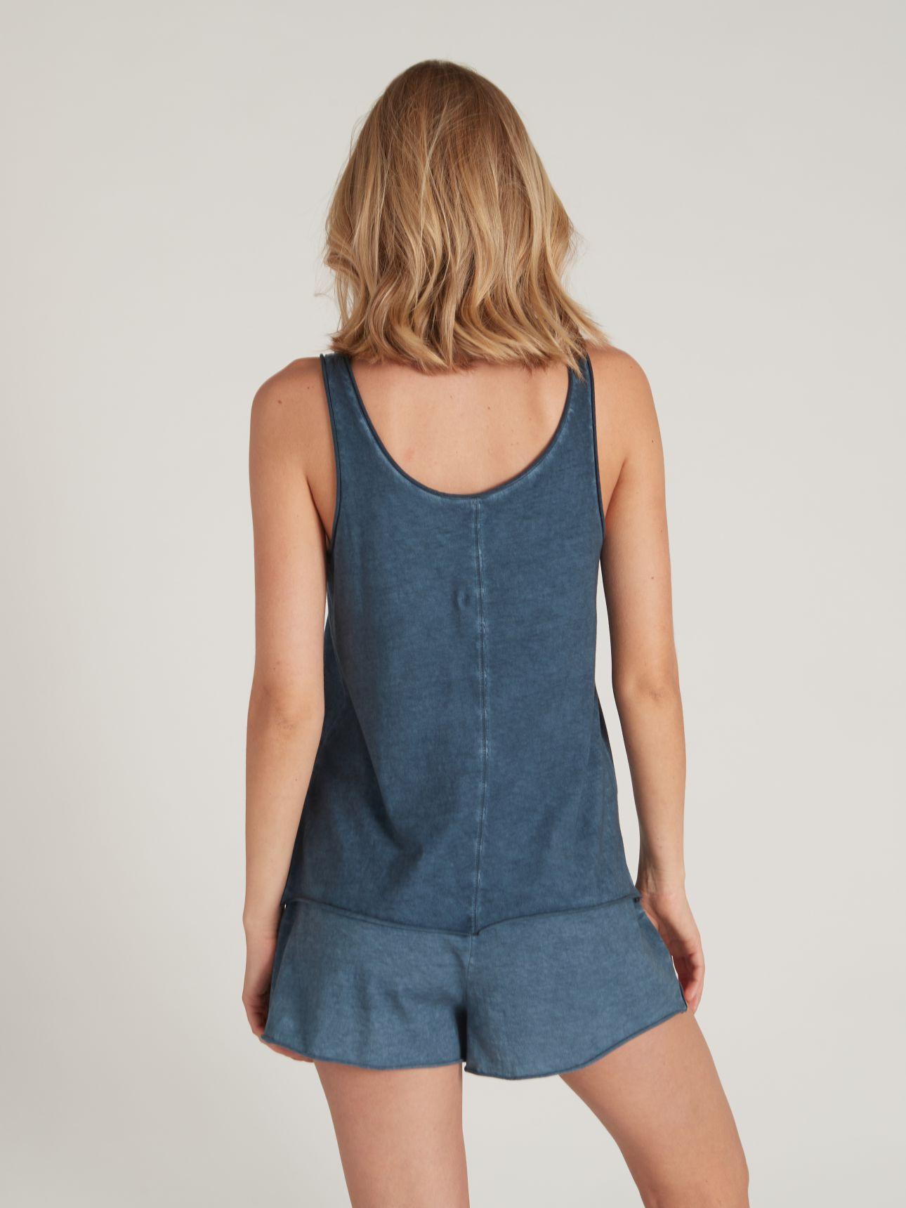 מכנסיים קצרים ROMI בצבע כחול אוקיינוס