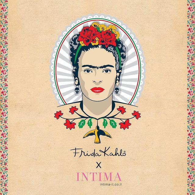 FRIDA KAHLO x INTIMA  במיוחד לכבוד יום האישה, בואי להכיר את קולקציית הקפסולה העוצמתית שלנו בהשראת האמנית האייקונית פרידה קאלו💓